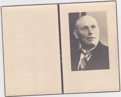 Gedachtenisprentje Van Frans Van Wezemael, Burgemeester Van Hofstade-bij-Aalst Van 1921 Tot 1950 - Religion &  Esoterik
