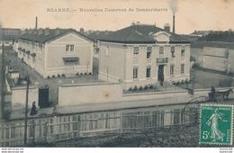 Carte De ROANNE Nouvelles Casernes De Gendarmerie ( Recto Verso ) - Roanne
