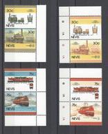 NEVIS  YT  N° 353/360 + Essais De Couleurs  Neuf **  1986 - Trains