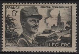 FR 1239 - FRANCE N° 815 Neuf** Général Leclerc - France