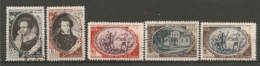 RUSSIE -  Yv N° 1341 à 1345 (o) Pouchkine Cote  25  Euro  BE  2 Scans - 1923-1991 URSS