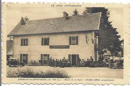 ANDELOT En MONTAGNE - Hôtel De La Gare - OYSEL-GROZ Propriétaire - Autres Communes