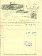 "LENGERICH I W 1912 Rechnung Deko "" H.Rietbrock Aschenbrödel Seifenfabrik "" - Droguerie & Parfumerie"