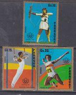 Paraguay PA  N° 705 / 07  O Jeux Olympique D' été à Montréal, Les 3 Valeurs Oblitérées, TB - Paraguay