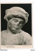 Carte  ( Format 15 X 10,5 Cm ) Eleusis Statuette D' Une Fille 480 Av Christ     ( Recto Verso ) - Grecia
