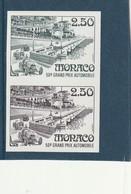 Monaco Non Dentelé 1814 Grand Prix Automobile 2 Essai Se Tanant - Monaco