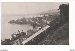 Carte  De Montreux Funiculaire Territet Glion  ( Perrochet David  La Chaux De Fonds Lausanne )( Recto Verso ) - VD Vaud