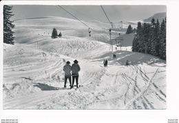 Adelboden  Skilift Tschentenalp Schwandfeldspitz  ( Format 14 X 9 Cm  )( Recto Verso ) - BE Berne