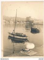 Grande Photo ( Format 18 X 23,5 Cm ) Du Port De DIEPPE ( Robbe Frères ) - Lieux