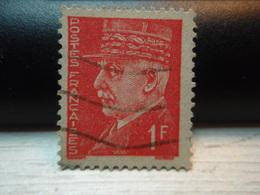 Timbre   1 Franc PETAIN.    Y&T 514 - 1941-42 Pétain