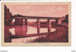 Carte De Sarreguemines Pont Frontière  ( Recto Verso ) - Sarreguemines