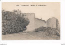 Carte D' Arlay  Ruines Du Vieux  Château  ( Recto Verso ) - Francia