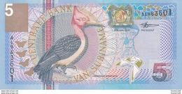 Billet  De Banque  Suriname  5 Vijf Gulden - Suriname