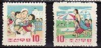 North Korea 1963  Michel  494/95  Mnh - Korea, North