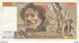 Billet De La Banque De FRANCE  100 Francs 1979 - 1962-1997 ''Francs''