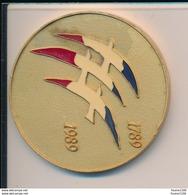 Médaille  Bicentenaire De La Révolution Française  1789 1989 - France