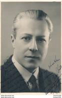 Photo Dédicacée ( Autographe ) Acteur D' Opéra  ANDRE BALBON  En Représentation Au Havre Le 17/03/1936 - Dédicacées