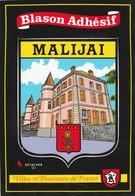 CPSM 04 MALIJAY BLASON ADHESIF - Francia