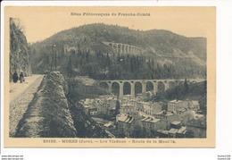 Carte De MOREZ  Viaduc   Route De La Mouille ( Recto Verso ) - Morez