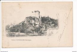 Carte Des Ruines D' Auberoche - France