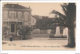 Carte  De Saint Cyr Sur Mer  Place De L'hôtel De Ville - Saint-Cyr-sur-Mer