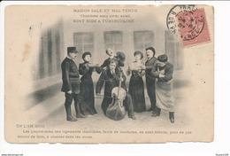 EN L AN 2000 MAISON SALE ET MAL TENUE NIDS A TUBERCULOSE PRESERVATION CONTRE LA TUBERCULOSE Orchestre Violoncelle - Santé