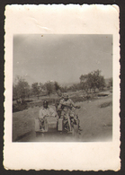 Yugoslavia WW2 Partisans Soldiers On Motorcycle  Old Photo 9x6 Cm #30421 - Guerre, Militaire