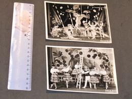 LIEGE - BALLET DU TROCADERO - 2 PHOTOS N/B DE L.ZANOLI - VOIR SCANS - Célébrités