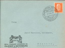 Hindenburg Klingenthal Sachsen Wintersport Waldreiche Gebirgslage - Royal Standard Accordion Zuleger & Mayenburg Musik - Lettres & Documents