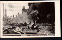 Long Beach, Refinery Explosion June 2 , Larry Linde Photo - Long Beach