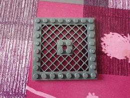 Plaque Grillagé Grise - Lego System