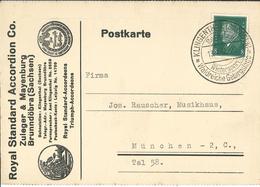 Ebert Klingenthal Sachsen Wintersport Waldreiche Gebirgslage - Royal Standard Accordion Zuleger & Mayenburg Musik - Lettres & Documents