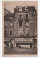 CPA, NOTE HOTEL SAINT FRANCOIS,  2 Place Emile Souvestre, Y LE PAPE Propriétaire, Morlaix, Note Au Dos, Voir Photo - Morlaix