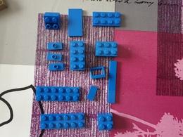 Lot Lego Briques Bleus - Lego System