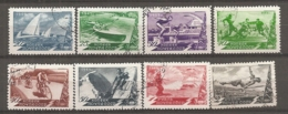 RUSSIE -  Yv N° 1368 à 1375 Complet   (o)  Sports Cote  4,5 Euro  BE - 1923-1991 URSS