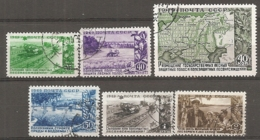 RUSSIE -  Yv N° 1378 à 1383 Complet  (o)  Reboisement Cote  25 Euro  BE 2 Scans - 1923-1991 URSS