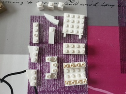 Lot Lego Blanc - Lego System