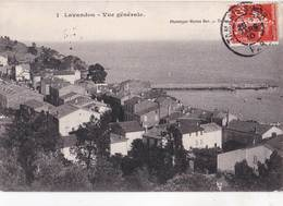 CPA  / Le Lavandou (83)  Vue Générale   Ph Marius Bar     TBE - Le Lavandou