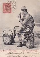 CONSTANTINOPLE / VENDEUR D OEUFS / BEL AFFRANCHISSEMET 1903 - Turquie