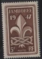 FR 1257 - FRANCE N° 787 Neuf** Jamborée Mondial à Moisson - Frankreich