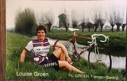Louise Groen - Dames Wielerploeg Th Groen Transportbedrijf - 1988 - Cyclisme