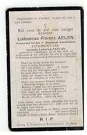 DP Ludovicus Florent AELEN Geb.Antwerpen 1889 Korporaal 1° Reg.Karabiniers Gesneuveld Te Hofstade 1914 - Godsdienst & Esoterisme