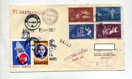 Lettre Recommandée ? Fdc  Bucarest Sur Poste + Bucarest Sur  Espace - Marcofilie - EMA (Printer)