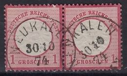 """Nr. 19 Paar K 1 """"NEUKALEN"""" - Gebraucht"""