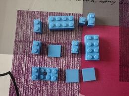 Lot Lego Bleu - Lego System