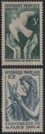 FR 1268 - FRANCE N° 761/62 Neufs** Conférence De La Paix à Paris - France