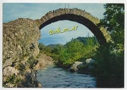 {38494} En Cévennes , Le Pont Aux Chèvres Sur Le Gardon - Bruggen