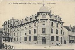 LONS LE SAUNIER Hôtel Des Postes.Attelage De Chien ? - Lons Le Saunier