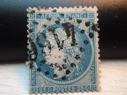 TIMBRE Cérès 25 C  N° 60 A Oblitéré - 4166 - - 1871-1875 Ceres