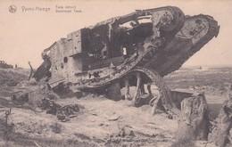 Ypres Hooge Tank Détruit Destroyed Tank - Guerre 1914-18
